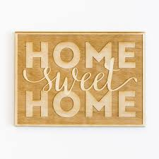 Small Picture Wood Decor Wood Art Wood Signs Home Sweet Home Wood Sign