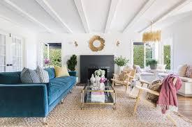 alyssa rosenheck mid century modern living room
