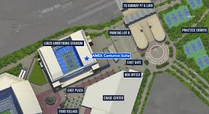New Louis Armstrong Stadium Seating Chart U S Open Entrance Map And Centurion Suite Location Point