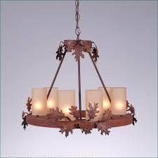wisley chandelier round small oak leaf