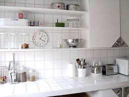 white tile kitchen countertops. Interesting White Intended White Tile Kitchen Countertops O