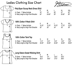 Us Tops Size Chart Ladies Clothing Size Chart