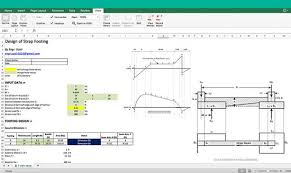 Small Picture Download Reinforced Concrete Strip Footing Design Excel Sheet