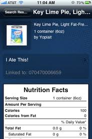 but let s say the barcode that is scanned doesn t pull up any results well you have the option to add the food to the database by adding the name