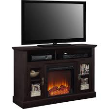 furniture media console with electric fireplace new ameriwood home chicago electric fireplace tv console for