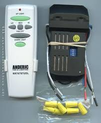 universal remote for ceiling fan control kit cfl and regular light bulbs hunter 343 668 installation