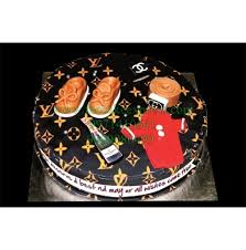 Louis Vuitton Theme Cake Boys Birthday Cakes Cake Express Noida