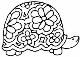 Small Picture Hard Turtle Coloring Pages Coloring Pages