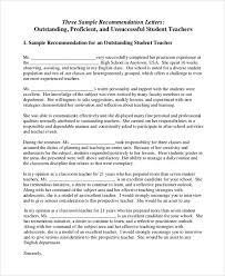 teacher letter of recommendation new example letter recommendation teacher basilicatanews info