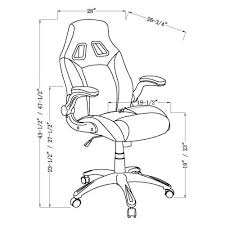 office chair drawing. Interesting Office Shop Oliver U0026 James Soni Adjustable Office Chair  On Sale Free Shipping  Today Overstockcom 21427018 Inside Drawing C