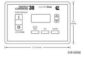 energy command 30 autostart (018 02030) onan energy command 30 for sale at Wiring An Rv Generator Auto Start Ec 30