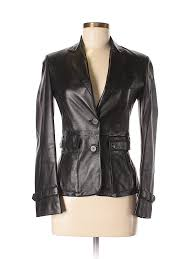 pin it burberry women leather jacket size 2