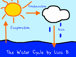 water cycle illustration   k  computer lab technology lesson plansthe water cycle