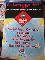 Cobbosseecontee Lake Depth Chart Fhs Fishing Boating Map Chart Gps Points Guide St Lawrence
