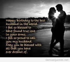 Birthday Quotes For Husband Custom Husband Birthday Quotes