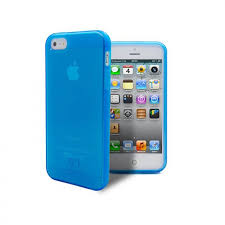 Iphone 5s Case Blue : Clubcase � frozen ice iphone s se soft case blue