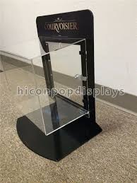 china metal acrylic retail accessories display countertop jewelry display case with lock supplier