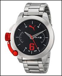 puma archives gracious watch pu103781004 advance metal