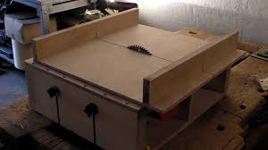 homemade table saw part 2 diy sledge runners mitre slots