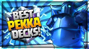 Best Deck Designs 2018 New Top 5 Best Pekka Decks For Easy Wins 2018 Arena 10 12 Trophy Push Decks Clash Royale