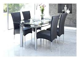 glass kitchen table set elegant glass top round kitchen table sets