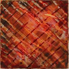 suzanne gibbs studio uber plaid encaustic 10 x 10 available