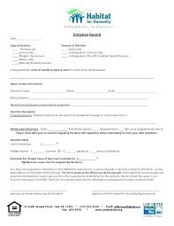 Donation Contribution Form Template Hsa Request Email Sample