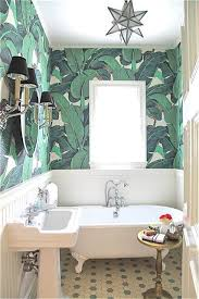 Image Ideas The Spruce 16 Glamorous Bathrooms With Wallpaper