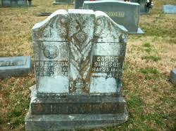 """Sophia M. """"Sophie"""" Parks Simpson (1868-1955) - Find A Grave Memorial"""