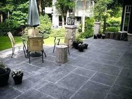 stamped concrete backyard designs stamping concrete patio ideas wonderful slate pattern stamped pictures