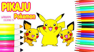 Pok Mon Go Pikachu Coloring Page Fun Coloring Activity For Kids L