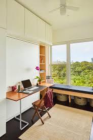 resource furniture murphy bed. Bedroom Featuring The Resource Furniture Ulisse Desk Wall Bed And Andersen 100 Series Windows Queen Murphy M