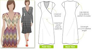 How To Make A Dress Pattern Magnificent StyleArc Slipon Suzie