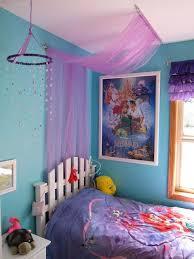Lovely Easy Tulle Canopy Tutorial, Little Mermaid Themed Bedroom   My Dream  Childhood Room