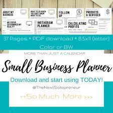 Business Planner For Entrepreneurs