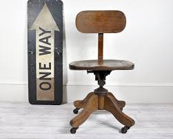 vintage wooden office chair. Vintage Wood Office Swivel Chair Desk Decor Choose The Antique For Maximum Comfort Wooden I