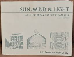 Sun Wind And Light Architectural Design Strategies Sun Wind And Light Architectural Design Strategies By Mark Dekay And G Z Brown 2000 Paperback Revised