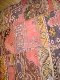 guest room patchwork rug new rug made from old turkish rugs that are damaged we cut away the damaged areas and then surge the edges of the good parts and