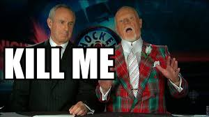 The many suits of Canadian hockey commentator Don Cherry : pics via Relatably.com