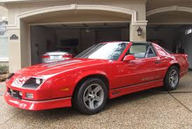 Camaro chevy camaro 5 speed manual transmission : Rare 5-Speed w/ 37K Miles: 1989 Chevrolet Camaro IROC-Z | Bring a ...