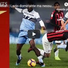 Lazio - Milan 0-0 Guarda gli Highlights (Lazio)