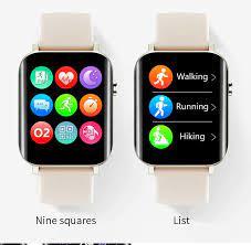 Uonevic Smartwatch , NY15 Đồng Hồ Thông Minh Đa Chế Độ Thể Thao Theo Dõi  Sức Khỏe