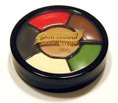 graftobian six color fx wheel for prosthetics