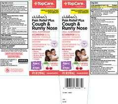 Cough And Runny Nose Childrens Plus Suspension Top Care