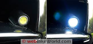 bikevis led lights webbikeworld bikevis lights close up