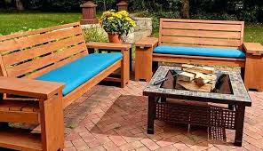 exterior furniture view in gallery outdoor