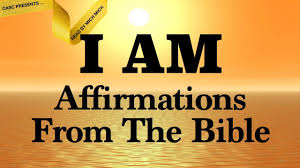 I Am Affirmations From The Bible Audio Bible Scriptures Faith Declarations Amazing Grace