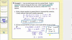 writing linear equation in general form part 2
