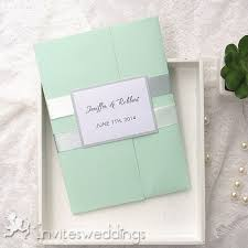 simple wedding invitations cheap invites at invitesweddings com Simple Folded Wedding Invitations simple green pocket wedding invitation iwpi016 simple pocket wedding invitations