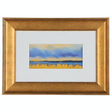Polly Hart Pastel Landscape Drawing, 21st Century | EBTH